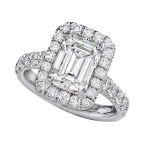 engagement rings channel set
